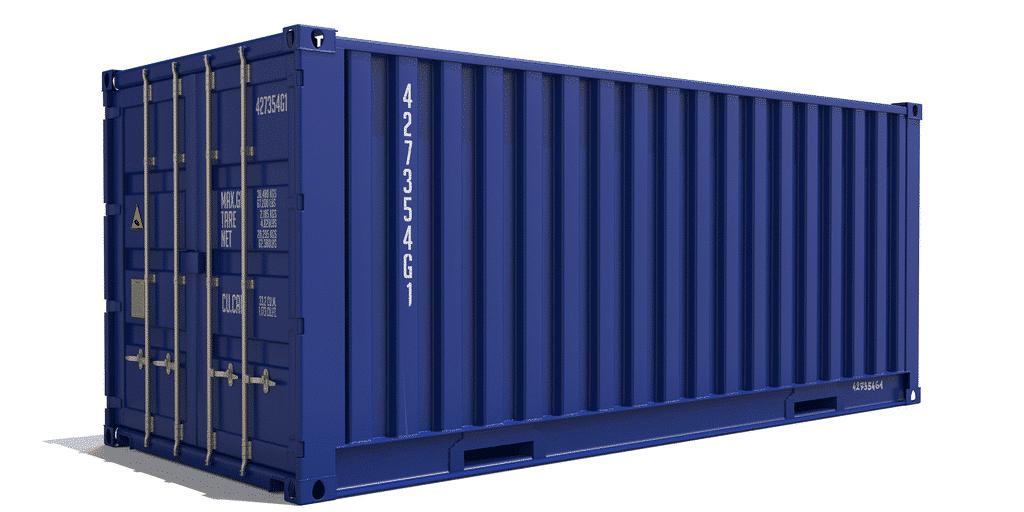 Разновидности морских контейнеров 20 футов